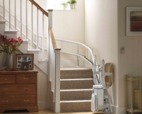 Stannah Curved Stair Lift