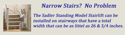 Narrow Stairs? No Problem